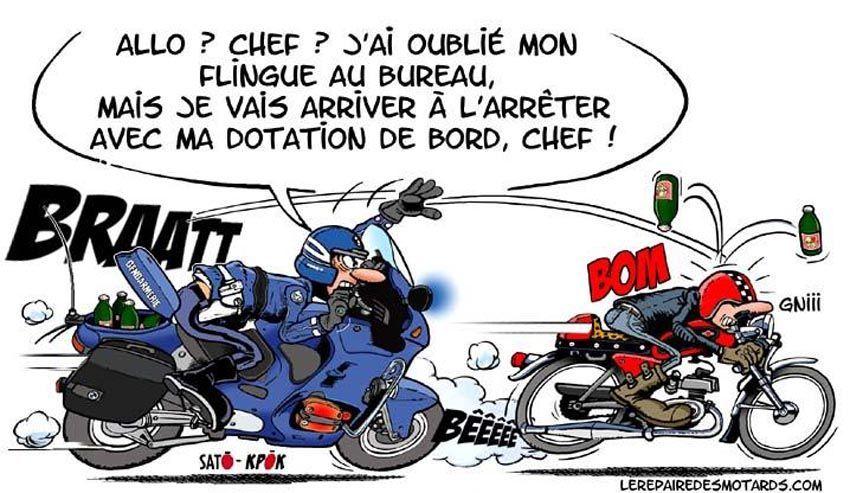 98dessins humour police page 6 - Dessin humour moto ...