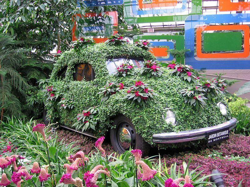 Cox au jardin botanique de montreal for Botanique jardin montreal