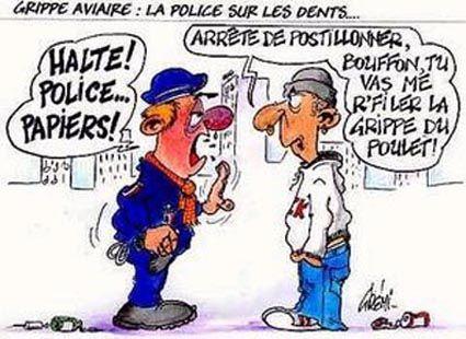98dessins humour police page 7 - Dessin motard humoristique ...