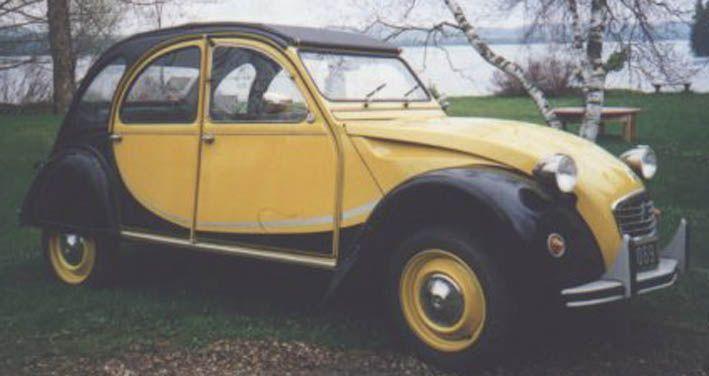 citroen 2 cv charleston de 1977