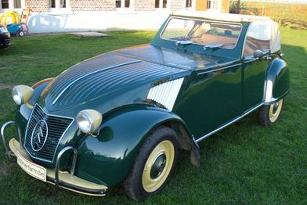citroen 2 cv custom cabriolet de 1964